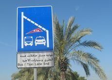 Dubai to launch bus and taxi only lanes from May 1
