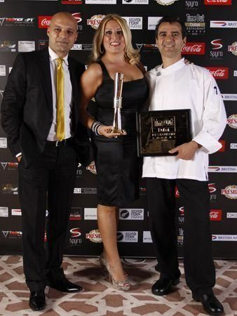 Time Out Restaurant Award winners