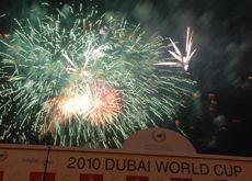 Dubai World Cup fireworks