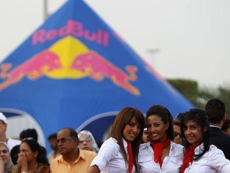 Red Bull Abu Dhabi action