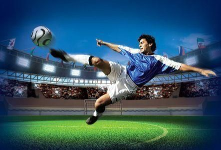 Play the Visa World Cup Financial Football game
