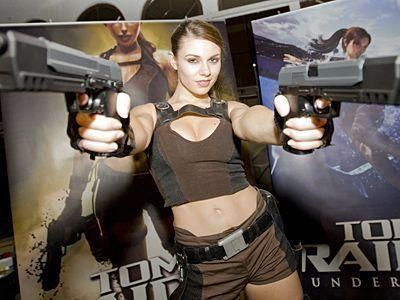 Tomb Raider Underworld party