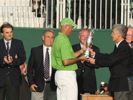 Stewart Cink wins the 138th Open