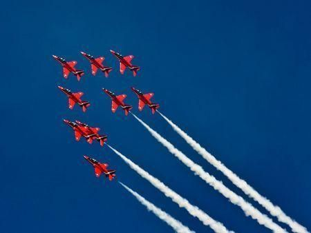 UK's Red Arrows to perform over Abu Dhabi on Thursday