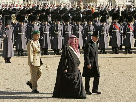 Saudi king's tour of Europe