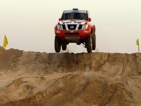 UAE Desert Challenge rally