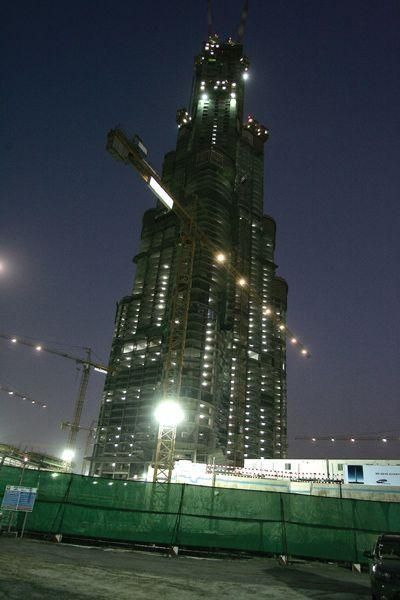 IN PICS: Burj Dubai development