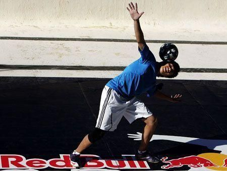 Street style football competition