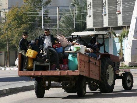 Gaza crisis - day 11