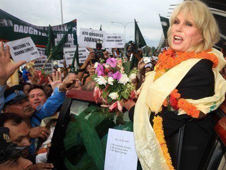 Nepal welcomes Joanna Lumley