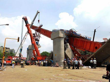 Delhi Metro collapse tragedy