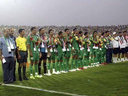 Football returns to Baghdad