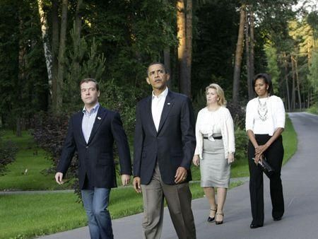 Obama in Moscow