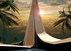 Wave tower