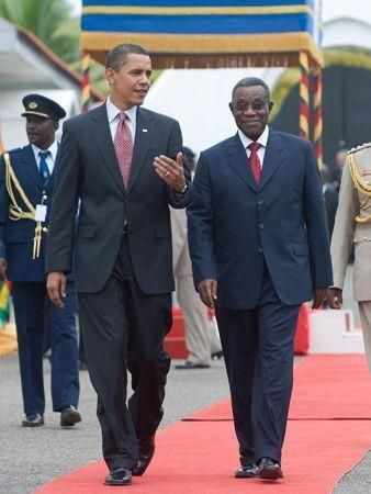 Africa welcomes Barack Obama