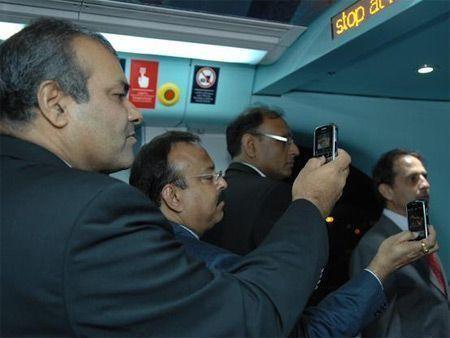 Metro ride from Rashidiya to MoE