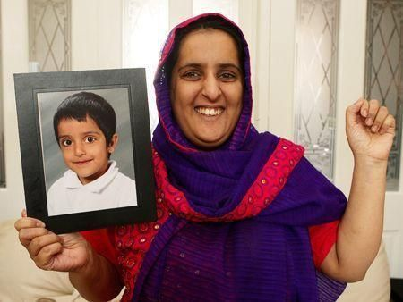Pakistan kidnap boy freed