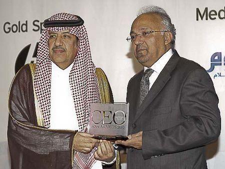 Saudi CEO award winners