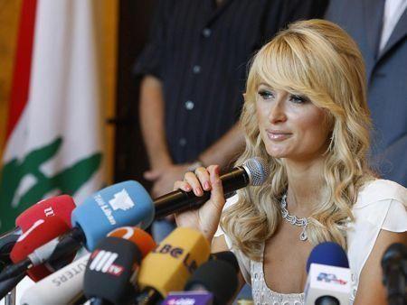 Paris Hilton in Beirut