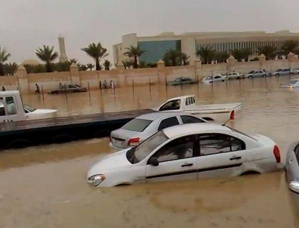 Streets flooded, power cut in Saudi city of Jeddah