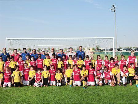 Arsenal Soccer Schools Dubai shoots off with Barca