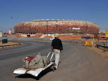 A look around South Africa's Soccer City