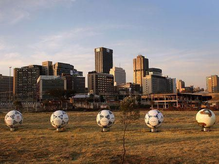 South Africa gears up for FIFA World Cup