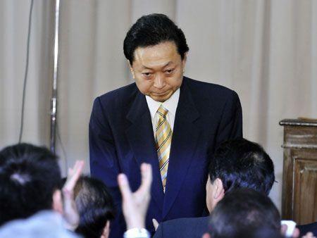 Japan's Prime Minister Hatoyama quits