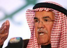 Saudi's Naimi sees oil staying at $70-80 a barrel