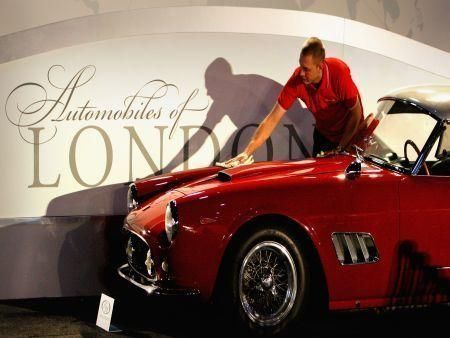 World's finest cars auctioned