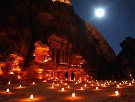 Petra desert trail