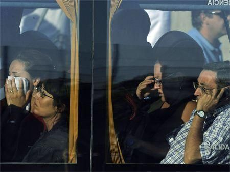 IN PICS: Madrid plane crash