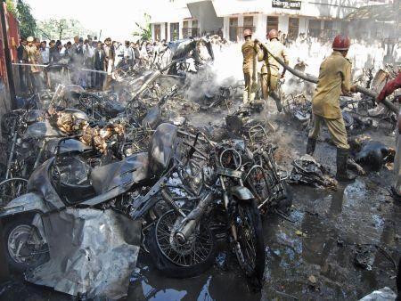 Indian bombing horror