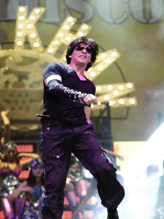 Shah Rukh Khan show in Dubai
