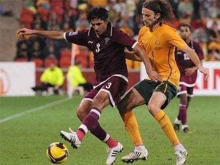 Aussies down Qatar in World Cup clash