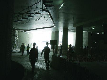 Terminal 3 construction