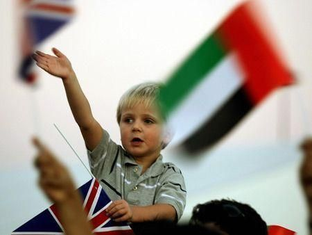 Dubai welcomes QE2