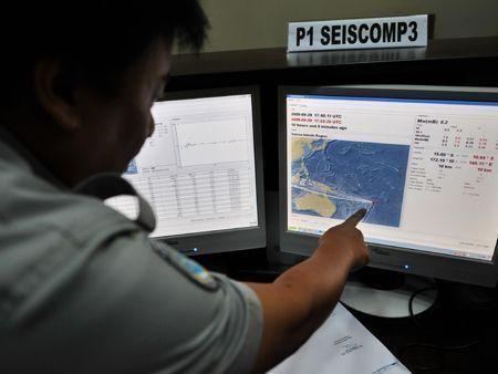 South Pacific tsunami