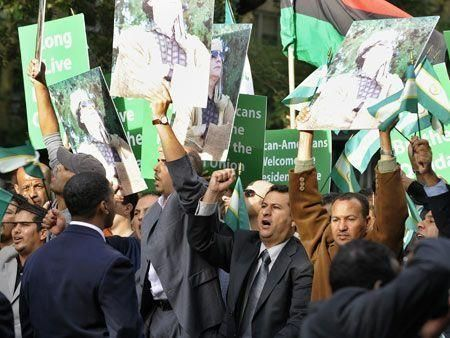 Protests erupt outside UN assembly