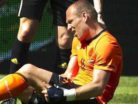 Players injured ahead of the World Cup