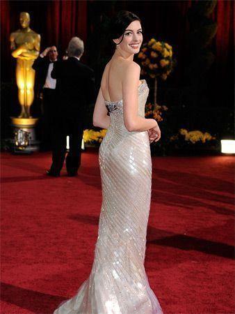 Oscars red carpet glamour