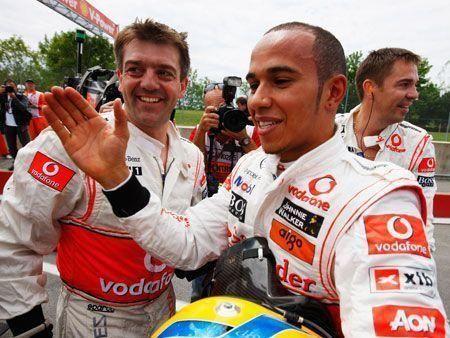 Hamilton on pole for Canadian F1 race