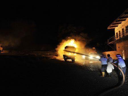 Nato convoy attacked in Pakistan