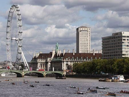 The 'Great River Race' in London