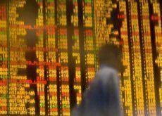 Most markets down, investors await Q2 results