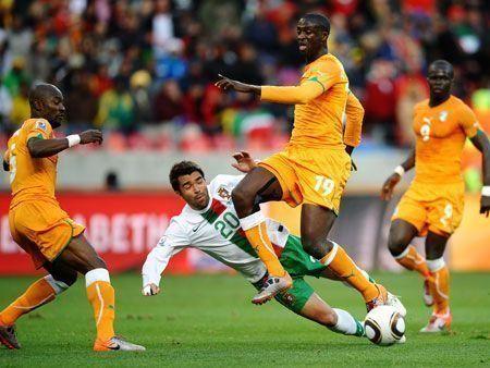 Ivory Coast v Portugal fail to score