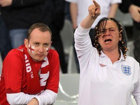 England fans shocked by Algeria stalemate