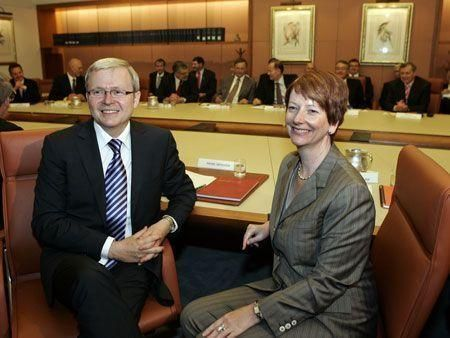 Kevin Rudd steps down as Australian PM