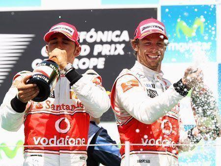 Vettel wins the European F1 Grand Prix