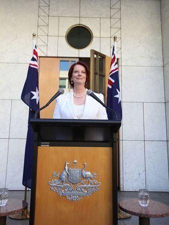 Australian PM Julia Gillard calls election